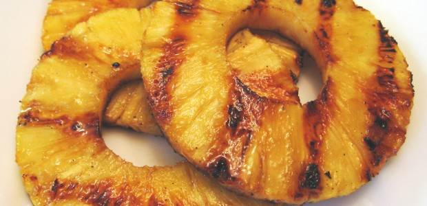 grillet ananas dessert