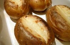 Bagte kartofler grill