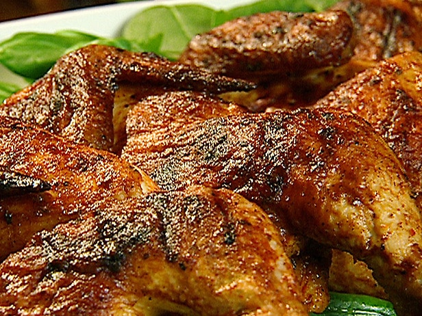 Grillet kylling med paprikamarinade