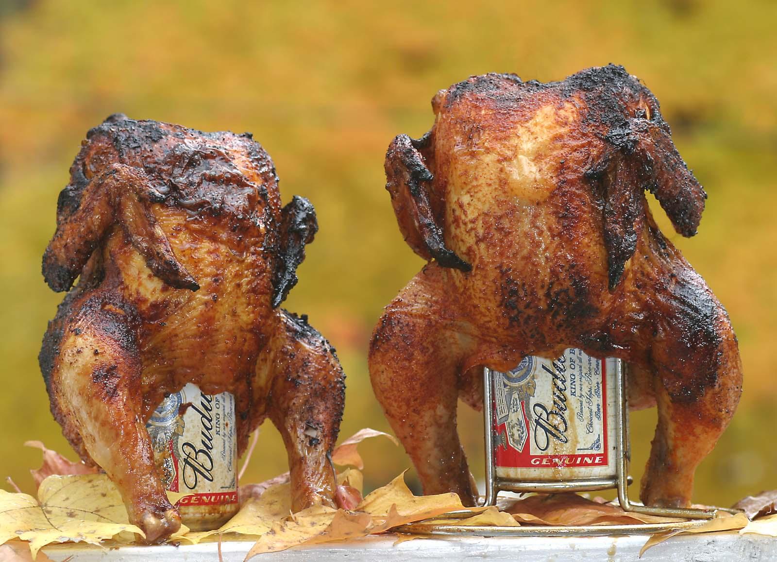 Kylling på dåse – Klassisk Weberopskrift